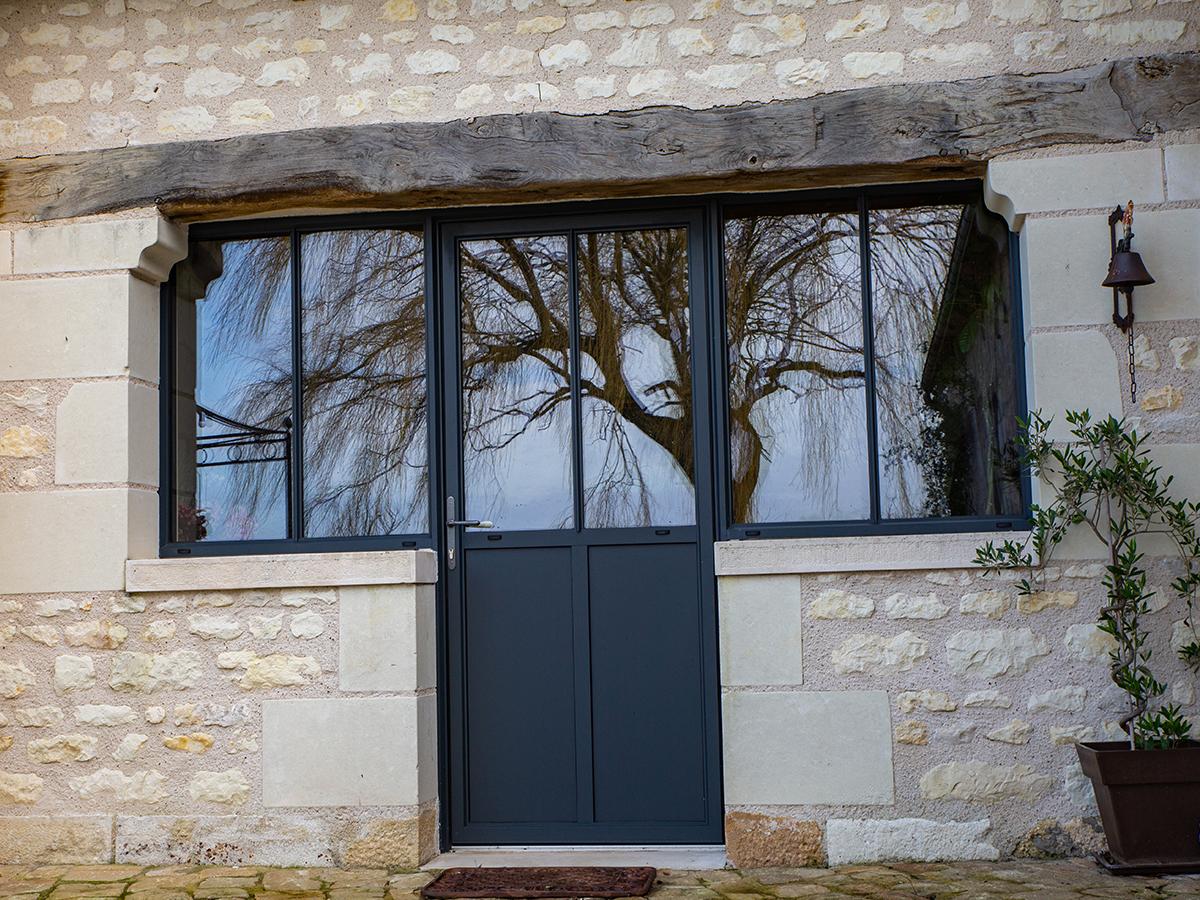fenêtre porte menuiserie extérieur